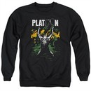 Platoon Sweatshirt Graphic Adult Black Sweat Shirt