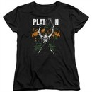 Platoon Womens Shirt Graphic Black T-Shirt