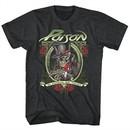 Poison Shirt In Poison We Trust Heather Black T-Shirt