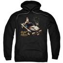 Pontiac Hoodie 77 Firebird Black Sweatshirt Hoody