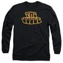 Pontiac Long Sleeve Shirt Judge Logo Black Tee T-Shirt