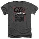 Pontiac Shirt 68 GTO Heather Charcoal T-Shirt