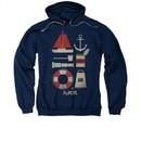 Popeye Hoodie Sweatshirt Items Navy Adult Hoody Sweat Shirt