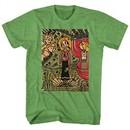 Popeye Shirt Ancient Art Heather Green T-Shirt