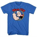 Popeye Shirt Man Up Royal T-Shirt