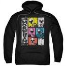 Power Rangers Ninja Steel Hoodie Morphin Time Black Sweatshirt Hoody