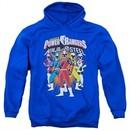 Power Rangers Ninja Steel Hoodie Team Royal Blue Sweatshirt Hoody