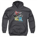 Power Rangers Ninja Steel Kids Hoodie It's Morphin Time Charcoal Youth Hoody