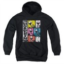 Power Rangers Ninja Steel Kids Hoodie Morphin Time Black Youth Hoody