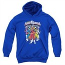 Power Rangers Ninja Steel Kids Hoodie Team Royal Blue Youth Hoody