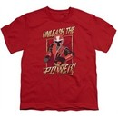 Power Rangers Ninja Steel Kids Shirt Unleash Red T-Shirt
