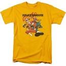 Power Rangers Ninja Steel Shirt Attack Gold T-Shirt