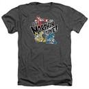 Power Rangers Ninja Steel Shirt It's Morphin Time Heather Charcoal T-Shirt