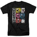 Power Rangers Ninja Steel Shirt Morphin Time Black T-Shirt