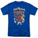 Power Rangers Ninja Steel Shirt Team Royal Blue T-Shirt