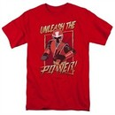 Power Rangers Ninja Steel Shirt Unleash Red T-Shirt