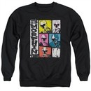 Power Rangers Ninja Steel Sweatshirt Morphin Time Adult Black Sweat Shirt