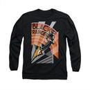 Power Rangers Shirt Black Ranger Long Sleeve Black Tee T-Shirt