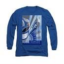 Power Rangers Shirt Blue Ranger Long Sleeve Blue Tee T-Shirt