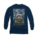 Power Rangers Shirt Rita Ranger Long Sleeve Navy Tee T-Shirt