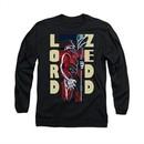 Power Rangers Shirt Zedd Long Sleeve Black Tee T-Shirt