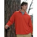 Men's 100% Polyester Milestone Quarter Pullover T shirt Tee Shirt
