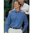 Premium Quality  Men's Classic Techno Long Sleeve Oxford Dress Shirt
