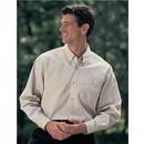 Men's Tall Sizes Executive Cotton Twill Long Sleeve Shirt