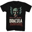 Radio Days Shirt Vampire Thriller Black T-Shirt