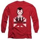 Rai Valiant Comics Long Sleeve Shirt Protector Red Tee T-Shirt