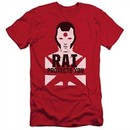 Rai Valiant Comics Slim Fit Shirt Protector Red Tee T-Shirt