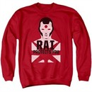 Rai Valiant Comics Sweatshirt Protector Adult Red Sweat Shirt