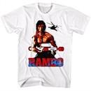 Rambo Shirt Water Logger White T-Shirt