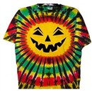 Rasta Halloween Tie Dye T-shirt