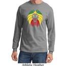Rasta Lion Head Long Sleeve Shirt