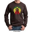 Rasta Lion Head Sweatshirt