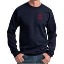 Red Dodge Ram Logo Pocket Print Sweatshirt