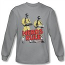 Revenge Of The Nerds Shirt Rule Long Sleeve Silver Tee T-Shirt