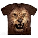 Roaring Lion Shirt Tie Dye Adult T-Shirt Tee