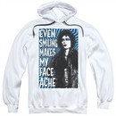 Rocky Horror Picture Show  Hoodie Face Ache White Sweatshirt Hoody