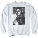 Rocky Horror Picture Show  Sweatshirt Be It Adult White Sweat Shirt