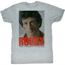 Rocky Shirt Portrait Athletic Heather T-Shirt
