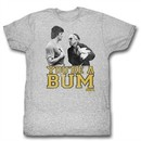 Rocky Shirt You're A Bum Athletic Heather T-Shirt