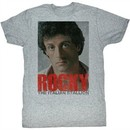 Rocky Shirt You Wish Adult Grey Heather Tee T-Shirt