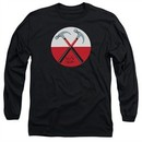 Roger Waters Long Sleeve Shirt The Wall Hammers Black Tee T-Shirt