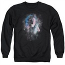 Roger Waters Sweatshirt The Wall Face Paint Adult Black Sweat Shirt