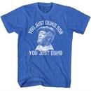 Sanford & Son Shirt Just Dumb Royal T-Shirt