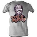 Sanford and Son T-shirt Redd Foxx Sanford Graffiti Grey Tee Shirt