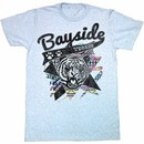 Saved By The Bell Shirt Aztec Tigers Adult Blue Heather Tee T-Shirt