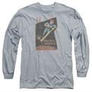 Scorpion Long Sleeve Shirt Proton Arnold Athletic Heather Tee T-Shirt